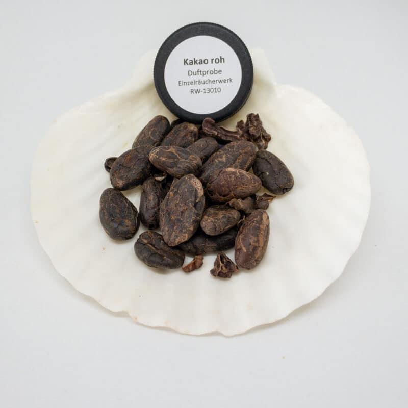 Kakao roh Einzelräucherwerk Bild