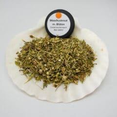 Moschuskraut mit Blüten Einzelräucherwerk Bild