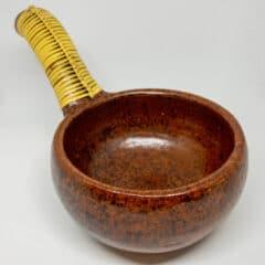 Räucherschale Terracotta mit Griff