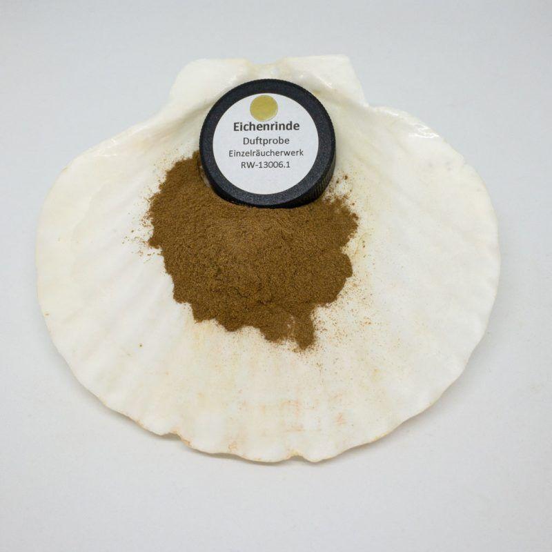 Eichenrinde Räucherpulver Produktbild TalaNia Räucherwelt