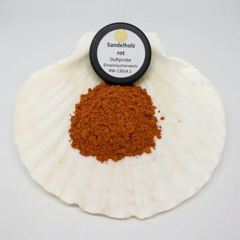 Sandelholz rot Räucherpulver Produktbild TalaNia Räucherwelt