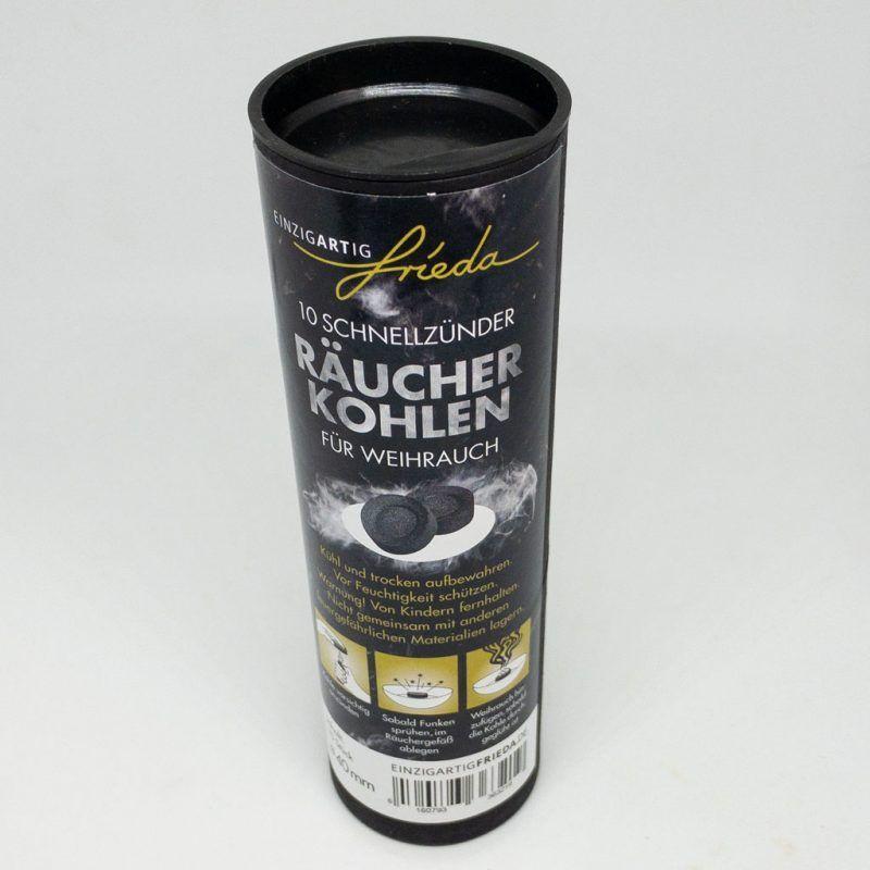 Räucherkohle 4cm TalaNia Räucherwelt Produktbild