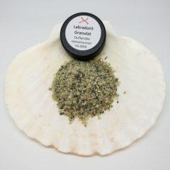 Heilstein Labradorit Granulat Räucherzusatz TalaNia Produktbild