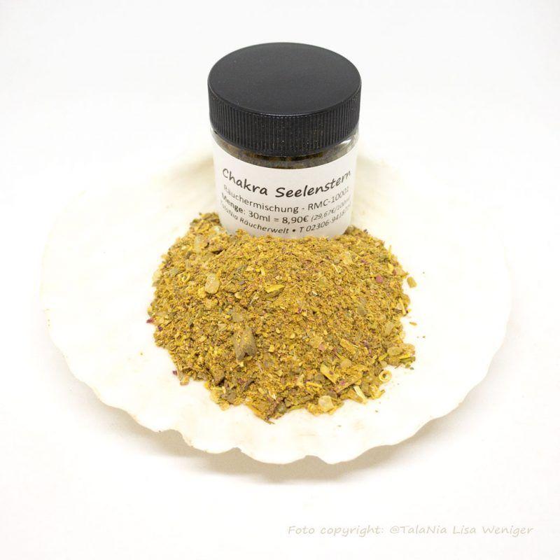 Seelenstern Chakra Räuchermischung TalaNia Produktbild