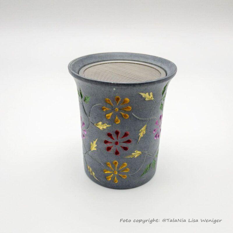 Räucherstövchen Color Speckstein Produktbild TalaNia