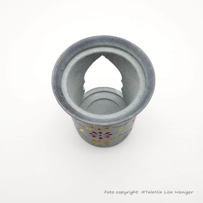 Räucherstövchen Color Speckstein Produktbild3 TalaNia